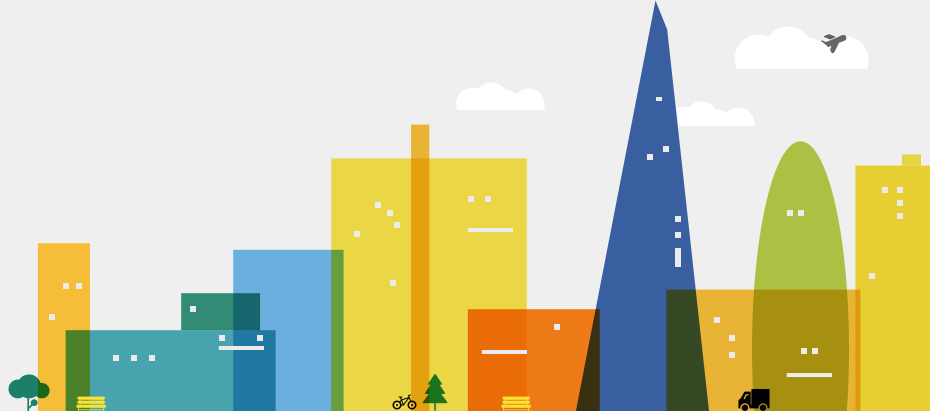 The City of London skyline illustration