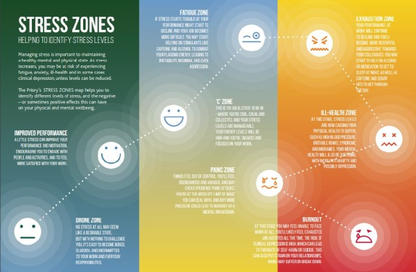 Stress Zones – being aware of your stress levels - Business HealthyBusiness  Healthy
